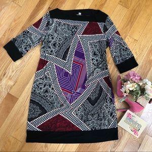 Graphic Tribal Dress